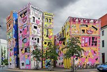 Street and Building Art / Only the best street art