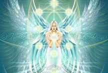 Kim's New Angel Inspiration Deck / Thrilled to inform you that this deck has now been released (8 July 2015).  For more information please visit my website - http://www.kimdreyerart.com/angel-inspiration-deck.html