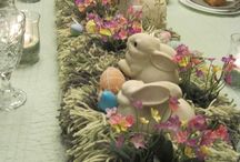easter table centerpiece / by ana luisa villazon