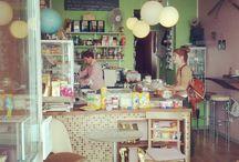 In my café