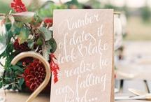 Weddings   Table Number