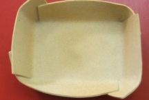 ceramics box, folding