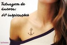 Tatuagens Âncora