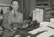 Costume designer Walter Plunkett