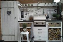Keuken buiten
