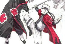Naruto and Pein