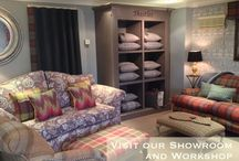 Showroom 8D Boundary Rd Brackley Reupholstery Curtains Cushions