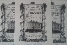 dalemain marmalade award / My bronze award 2015 and my silver and bronze awards 2016