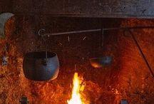 primitive kitchen utensils