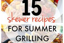 Summer Dishes and Cocktails / It's time for summer!  There is nothing better than enjoying a barbecue with your family and friends, or even having a summer picnic.  Enjoy these delicious BBQ recipes and summer cocktails!
