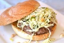 Feed Me - Burgers / by Bonnie