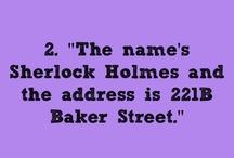 All things Sherlock / by Chelsea Twiner