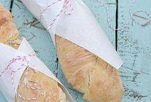 Fingerfood und Brot