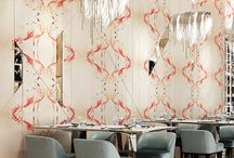 Wallpapers / Whether it be for a feature wall, or an entire room, Iona Crawford wall coverings are a stylish and elegant way to decorate your home. Made from the finest materials, they are of the highest quality and will achieve a beautiful finish. All wall covering designs are available as interior silk, velvet, cotton and linen union fabrics, lampshades and cushions.