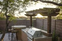 outdoor dining / by VINTAGE CHARM PLACE