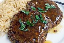 vegan salisbury steak