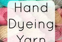 Hand  dyeing