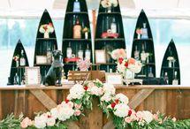 Wedding bar island style
