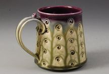 Pots, vessels, and things that hold stuff - Cups/Mugs/Goblets/Tankards / by Suzanne Sadler