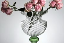 Glass Vases / Elegant glass vases, designed by Gabriela Seres and hancrafted in our workshop. Shop at www.gabrielaseres.com
