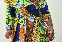 African baby dress