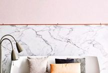 Design Trend - Marble / Marble can be found everywhere at the moment from fashion to stationary to interiors, we've pulled together some of our favorite pictures to help inspire you.