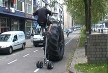 Strange things on wheels / Innovation, experiments and oddities- a little collection of wheeled creatures.