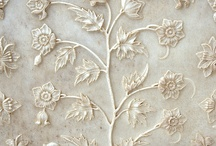 Flowers of marble / Beautiful flowers of marble decorated for the best luxury interior design.