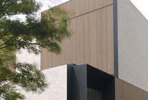 Fassade: Dezente Linien