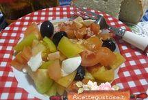 Insalate sfiziose e gustose / Tante idee sfiziose e gustose di insalate http://www.ricettegustose.it/Insalate_index.html