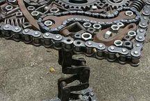 artesanato de ferro