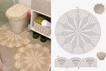 szydełkowanie - dywaniki