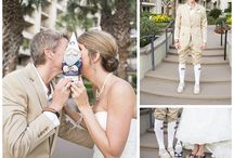 Football themed weddings / With Christy Whitehead Photography
