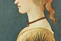 Profile Portrait Paintings