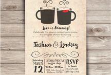 Wedding Theme: Coffee Shop