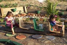 outdoor kindy spaces