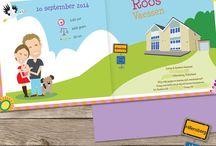 Maatwerk geboortekaartjes - Custom Birth Announcements / Geboortekaartjes gemaakt in opdracht.  custom birth announcements  cartoon portretten