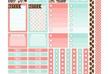 planner ideas&stickers