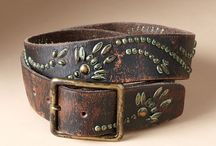 leather / belts
