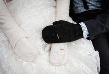WINTER BRIDAL INSPIRATION / Winter wedding dress and fashion inspiration for winter brides.
