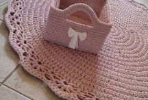 χαλί ροζ