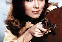 Diana Rigg as Emma Peel in The Avengers 1960