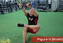 TRX Stretches / #TRX_Stretches #Suspension_Stretches