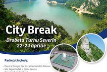 City Break Drobeta Turnu Severin / Descoperiti defileul Dunarii printr-un City Break. Hotel Continental Drobeta Turnu Severin ofera un pachet special pentru perioada 22-24 aprilie.