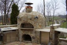 Wood fired bread/pizza oven