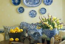 arrumação pratos parede