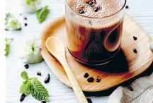 Vegan smoothies and drinks