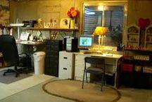 Art Studio Ideas / Ideas and things for my art studio / by Rick Corbett