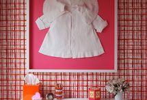 Framing clothing and fabrics