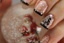 Χριστουγεννιάτικα Νύχια